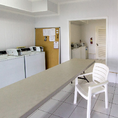 The Laundry Room at Orchid Bay