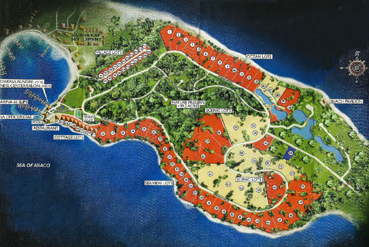 Orchid Bay Resort Map